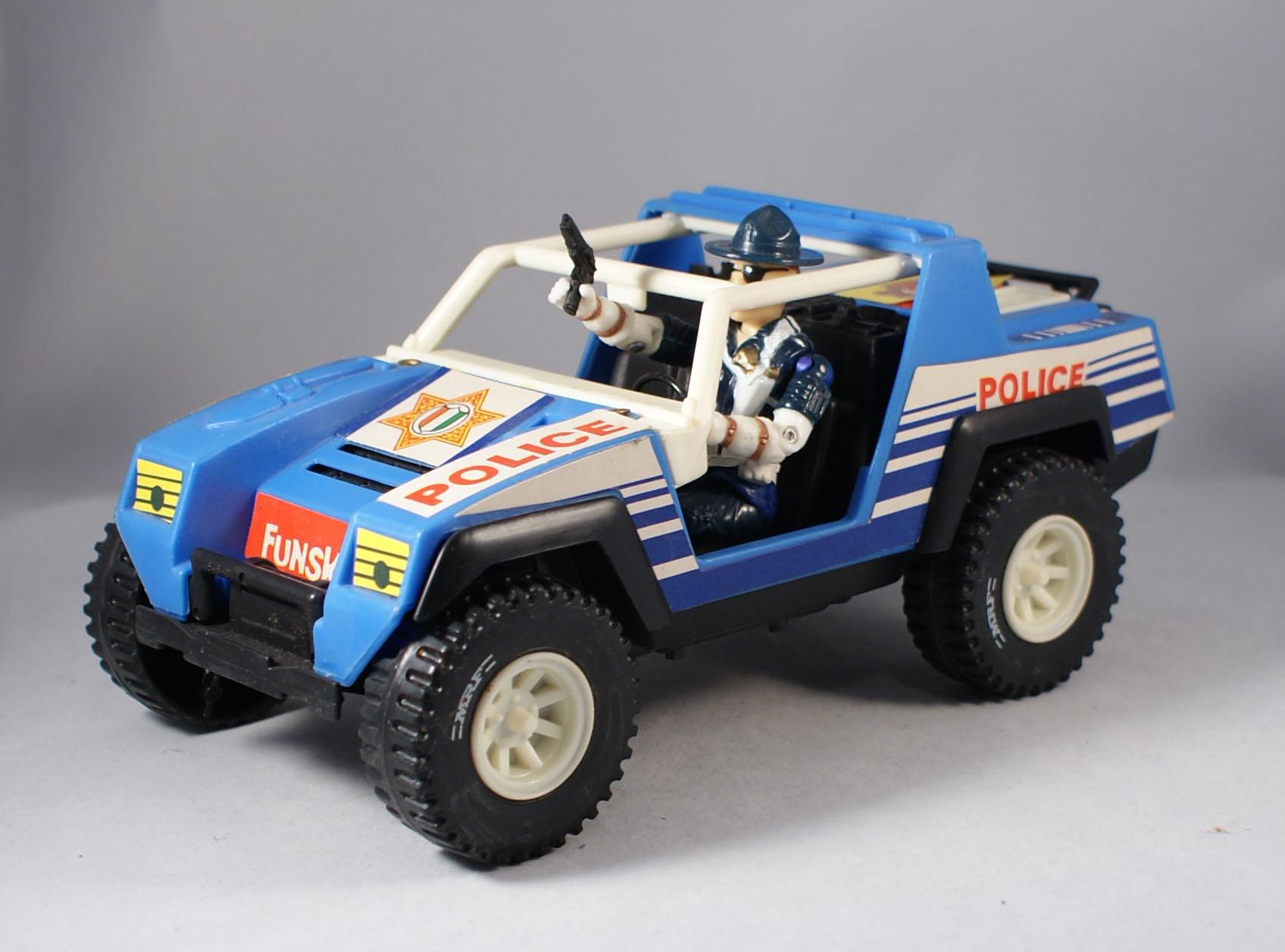 Super Cop Rescue Squad Jeep